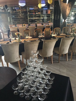 champagne tower 2