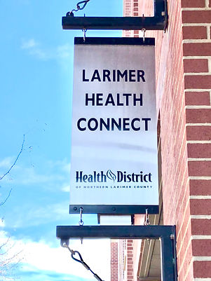 Larimer Health Connect - sign on Mason and Laporte