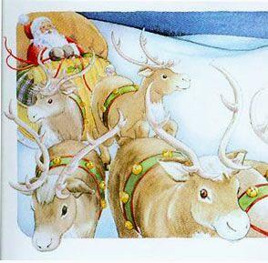 """Santa Flip Book"" © Jody Wheeler"