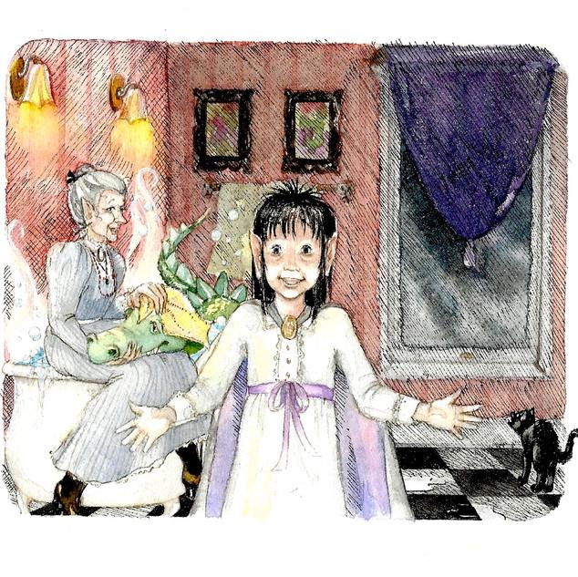 """""""A Very Scary Witch"""" © Joanne Barken"""