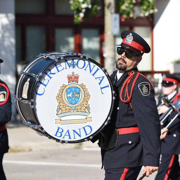 Ceremonial Band of the Waterloo Regional Police Service
