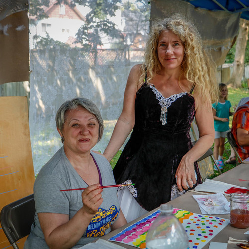 Adult Paint Session with Wendy MacDougall and Madeline Weber