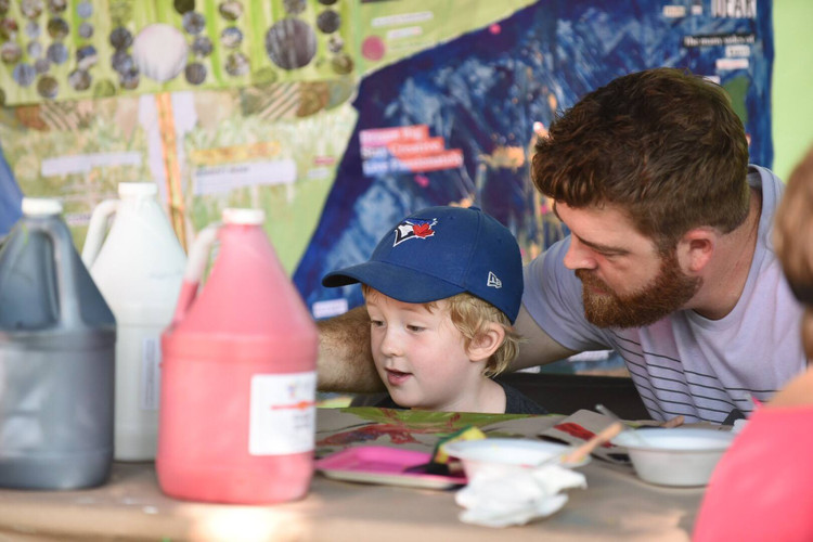 Kids Art Session with Wendy MacDougall