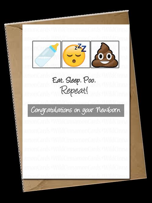 Eat Sleep Poo Repeat