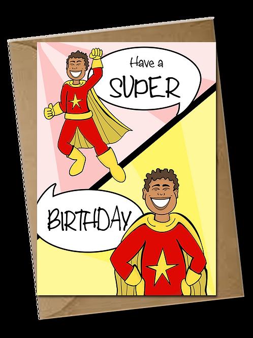 Super Boy! Birthday