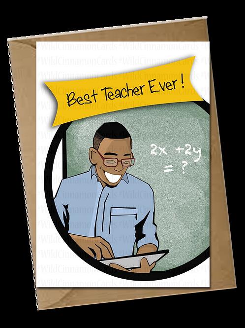 (Male) Best Teacher Ever