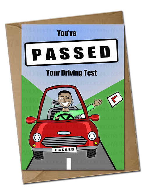 Male Passed Your Driving Test