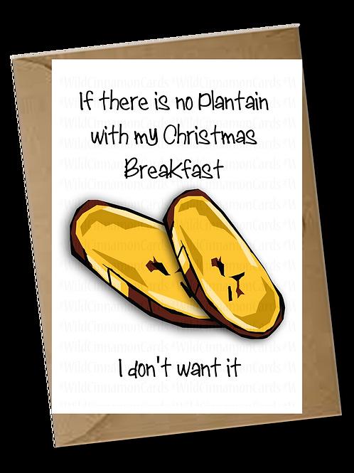 Plantain Christmas