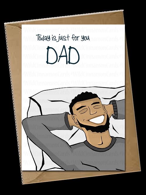 Dad Relaxing