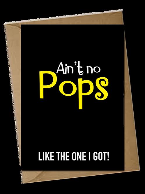 Ain't no Pops