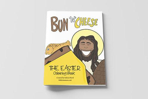 Bun and Cheese Colouring Book
