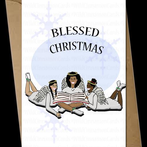 Christian interracial cards