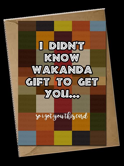 Wakanda Card