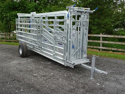 Mobile Cattle Crush