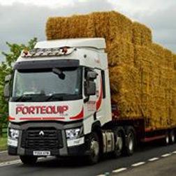 Portequip straw lorry
