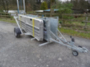 Sheep Handling System / Mobile Sheep Pens