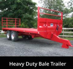 Heavy Duty Bale Trailer