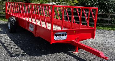 Cattle Feed Trailer