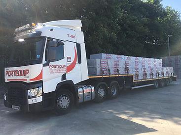 Portequip Lorry Step frame trailer