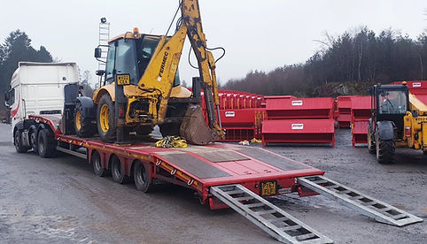 Portequip Lorry Plant Trailr