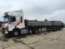 Portequip Lorry Flat Trailer