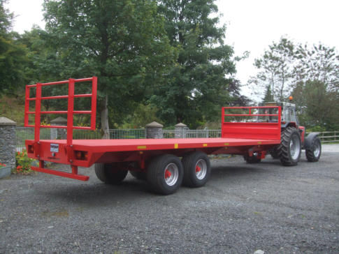 Heavy Duty Bale Trailer