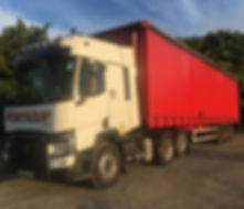 Portequip Lorry Curtain Sided Trailer