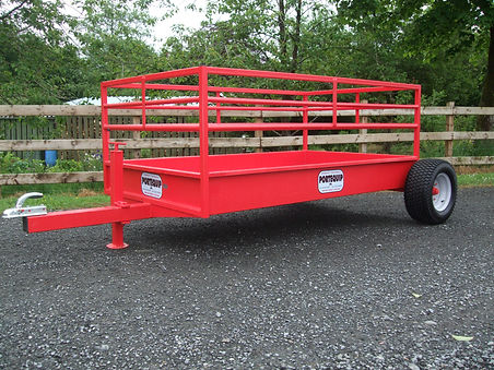 sheep feed trailer