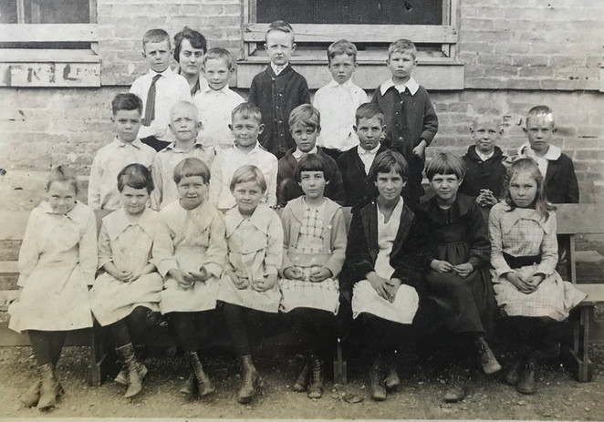 Wilford Chew (back left, in the tie)