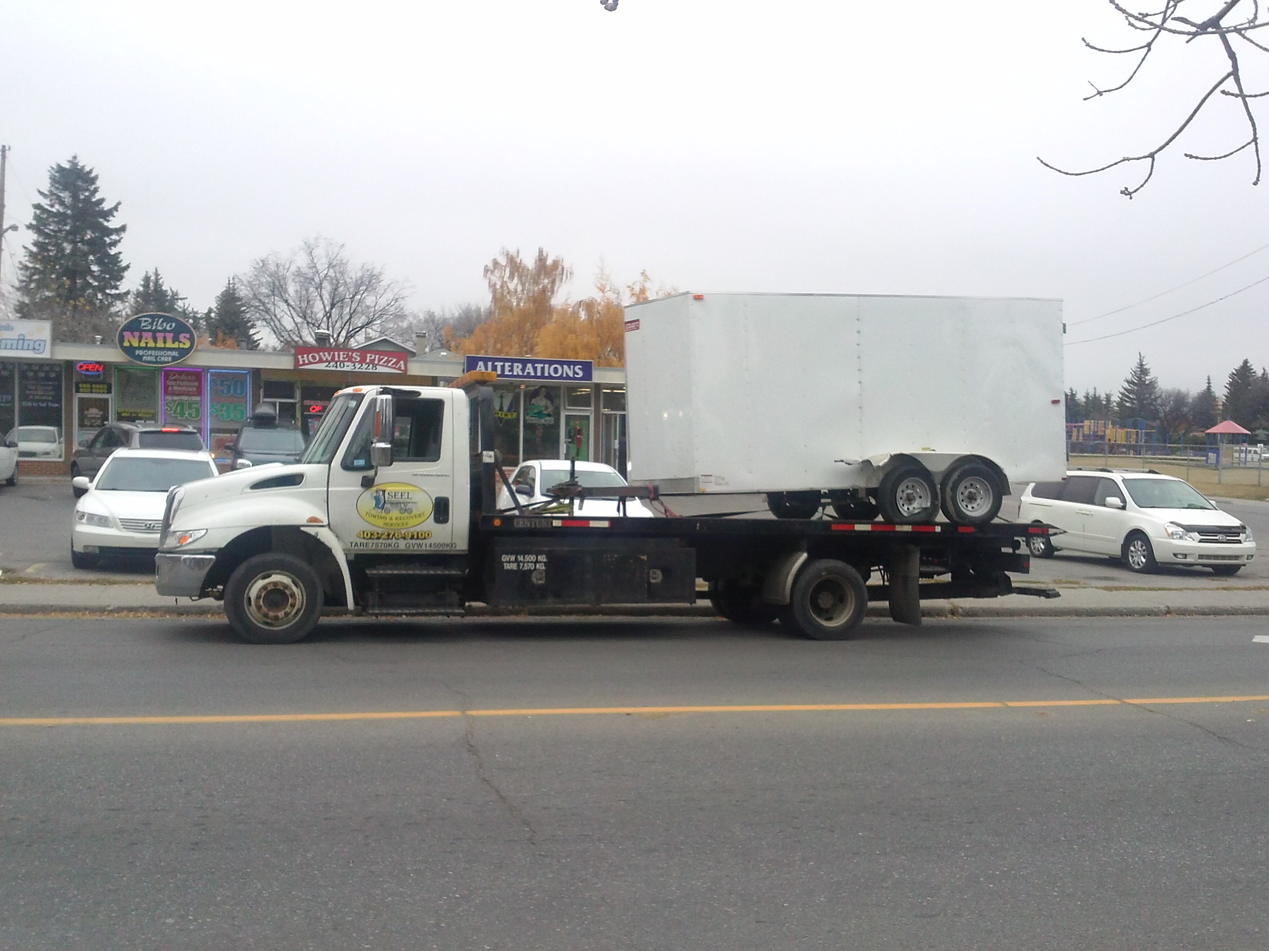 Utiliity Trailer Towing Calgary