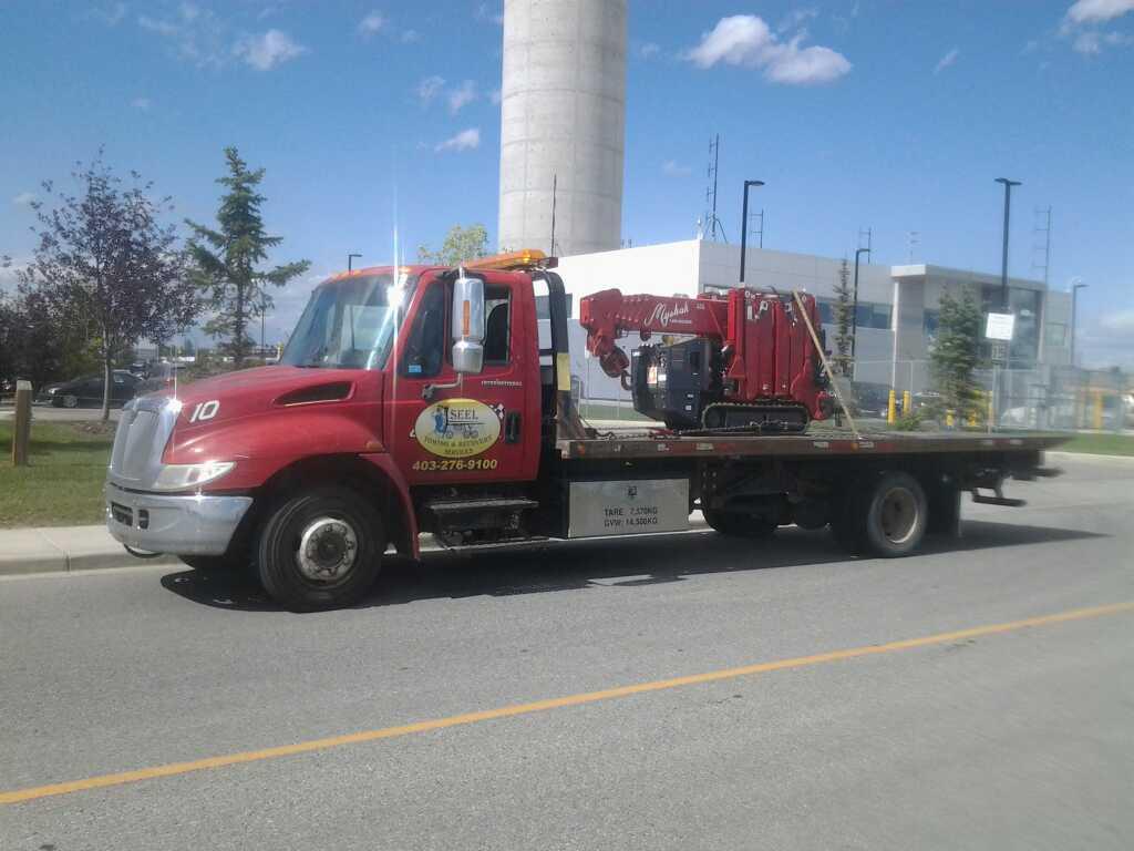 Crane Towing Calgary