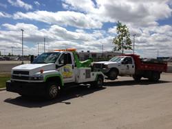 Towing Dump Truck