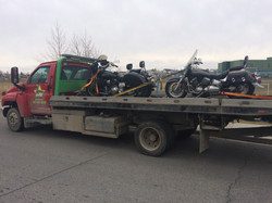Motorcycle Towing Seel Towing Multiple Tow