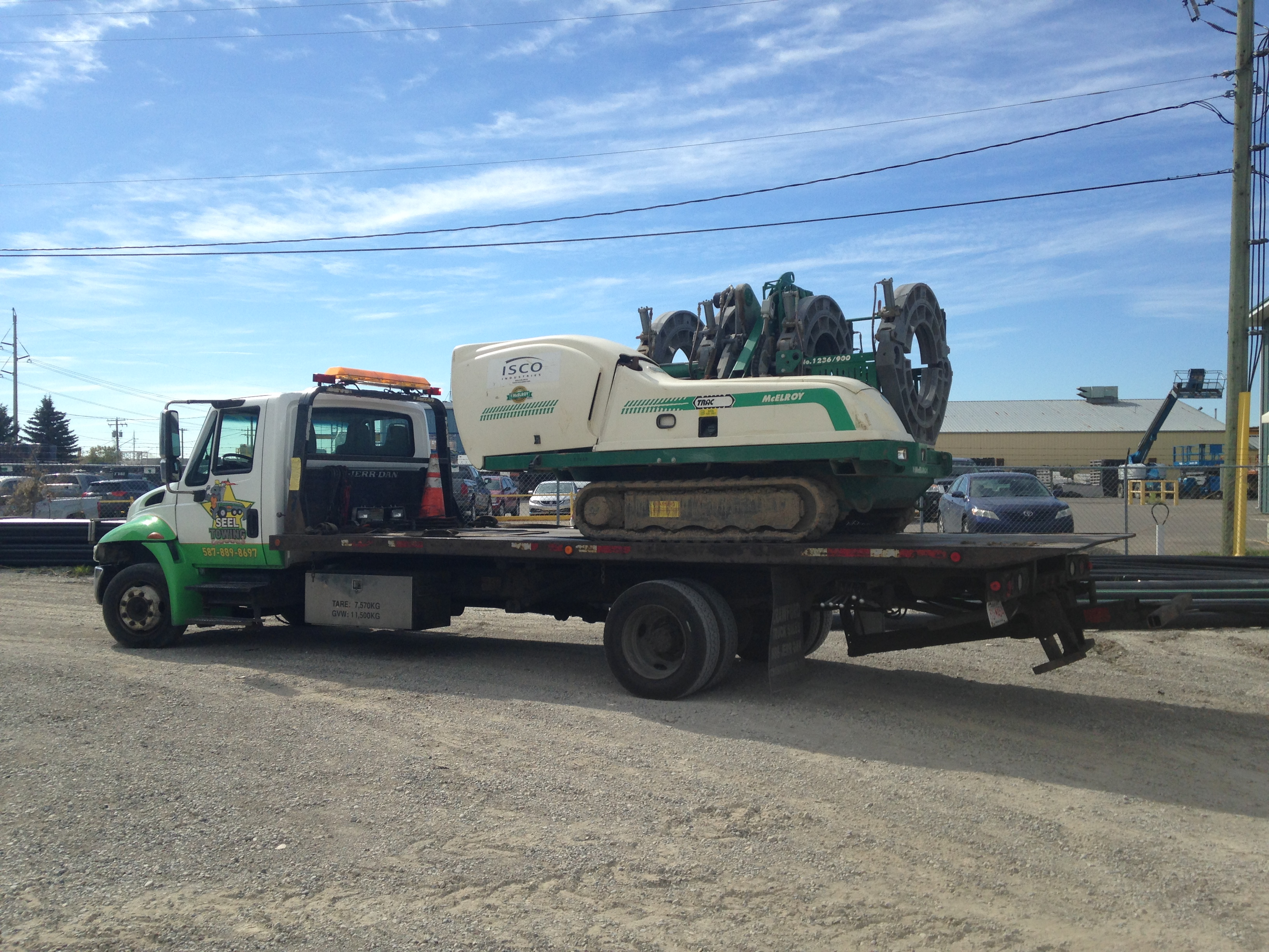 McElroy TracStar Maching SEEL Towing Equipment