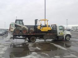 Fork Lift & Bobcat Towing Towing