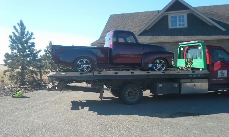 Towing SW Calgary 1954 GMC Truck