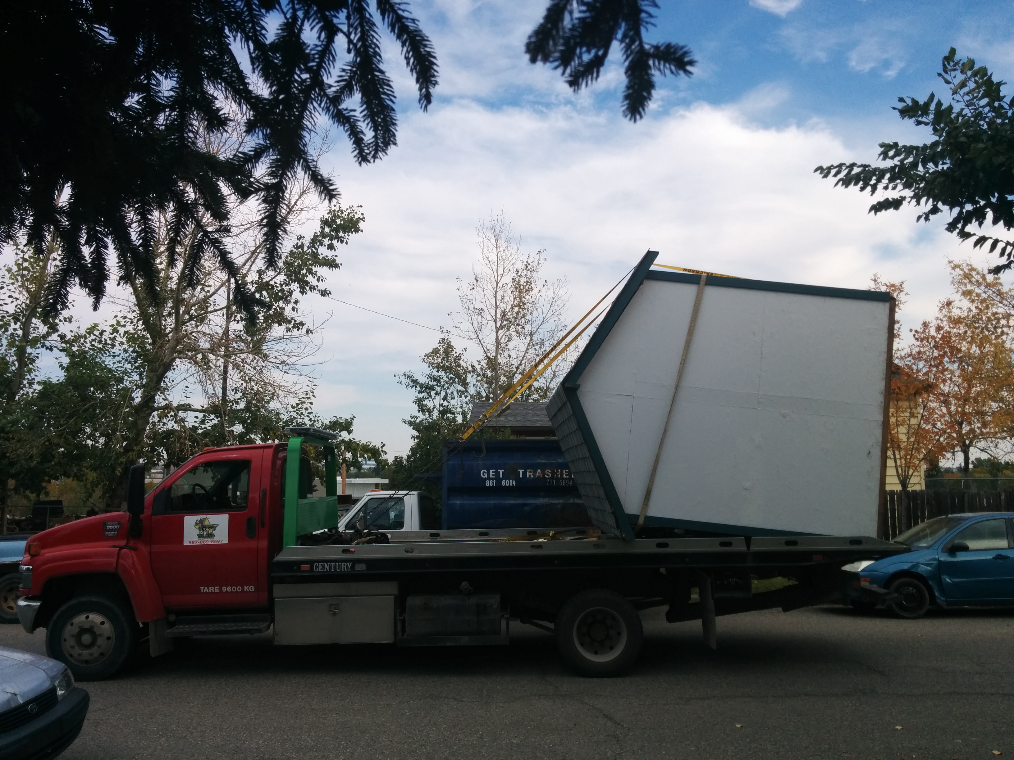 Shed Towing Services