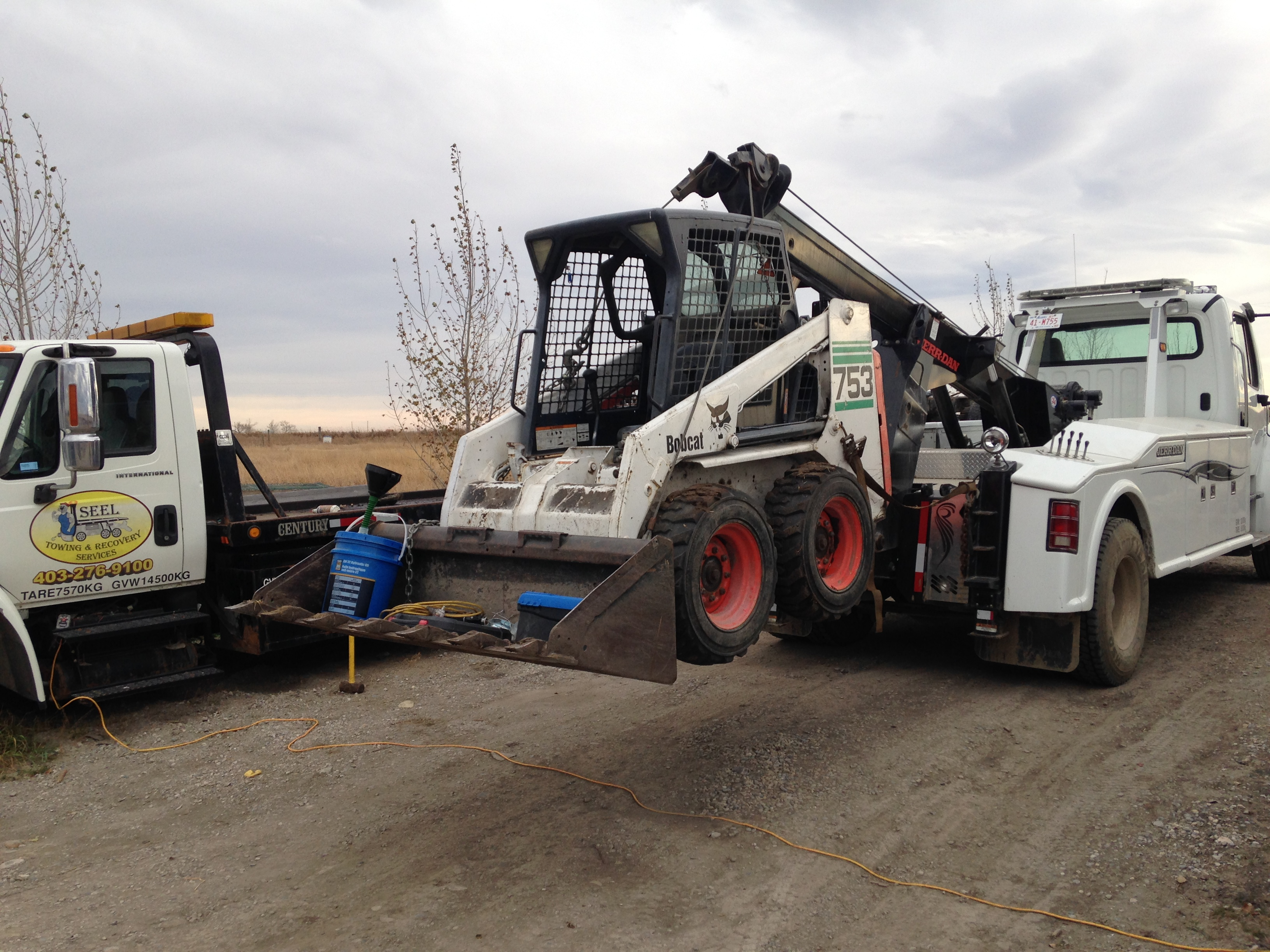 Heavy Duty Towing Services Calgary Seel Towing