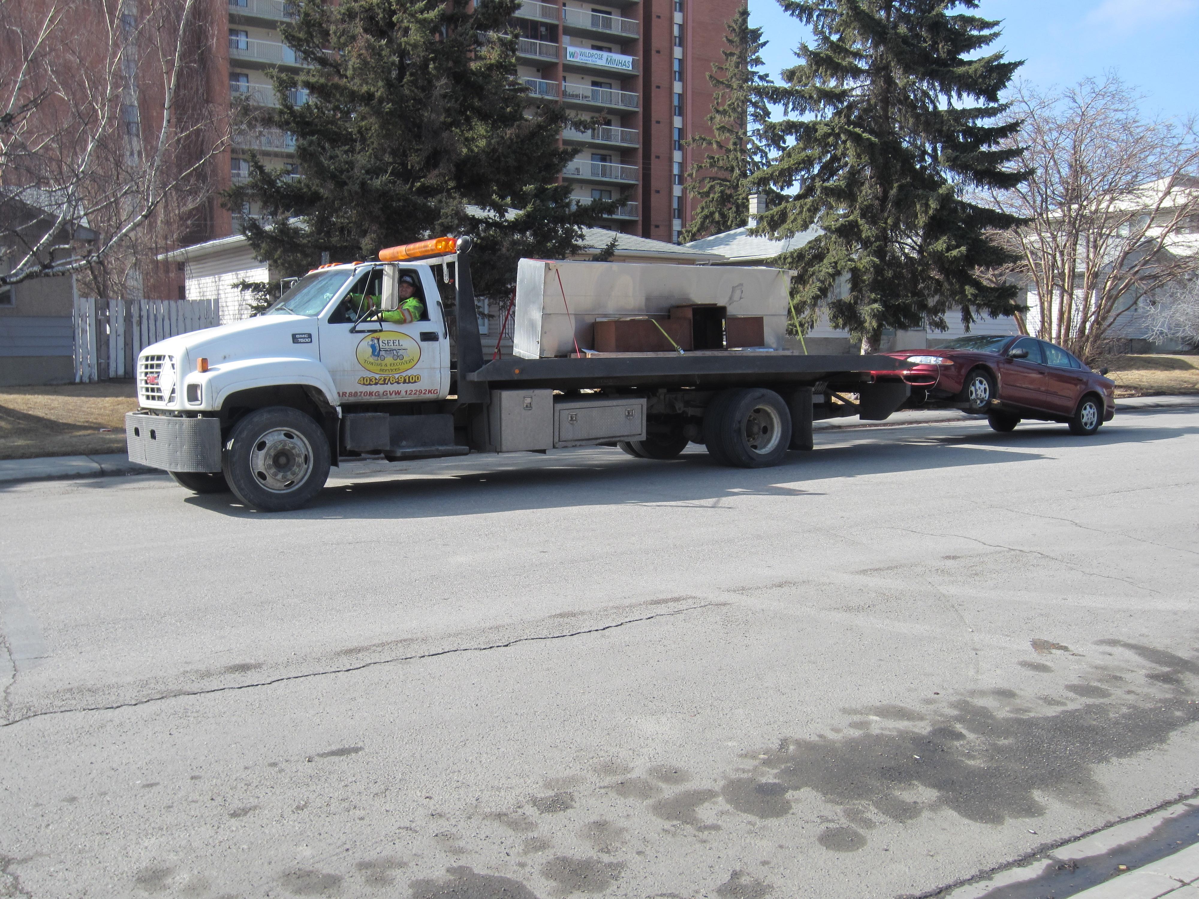 Equipment Hauling Calgary