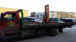 Towing a Pallet Jack