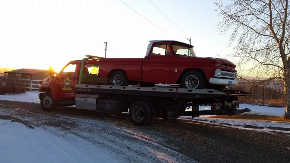 Flatdeck Towing GMC C100