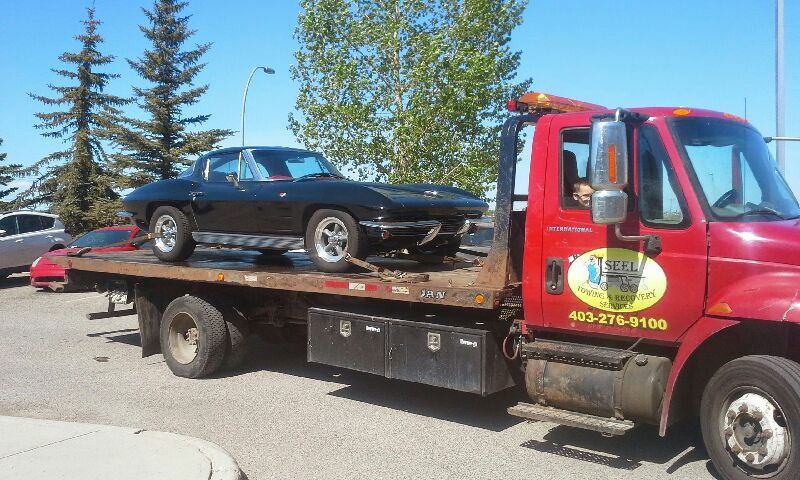 Towing Calgary 1963 Corvette