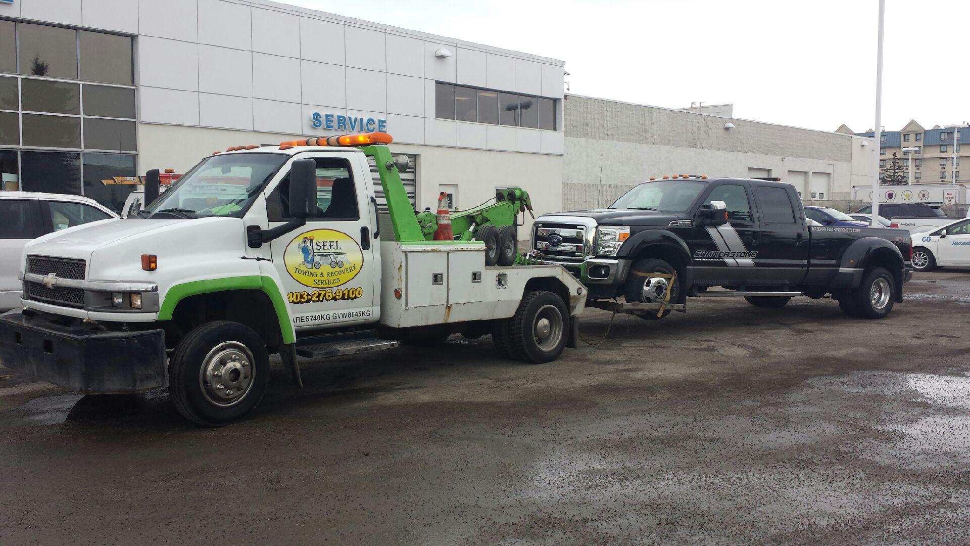 1 Ton Towing Services Calgary