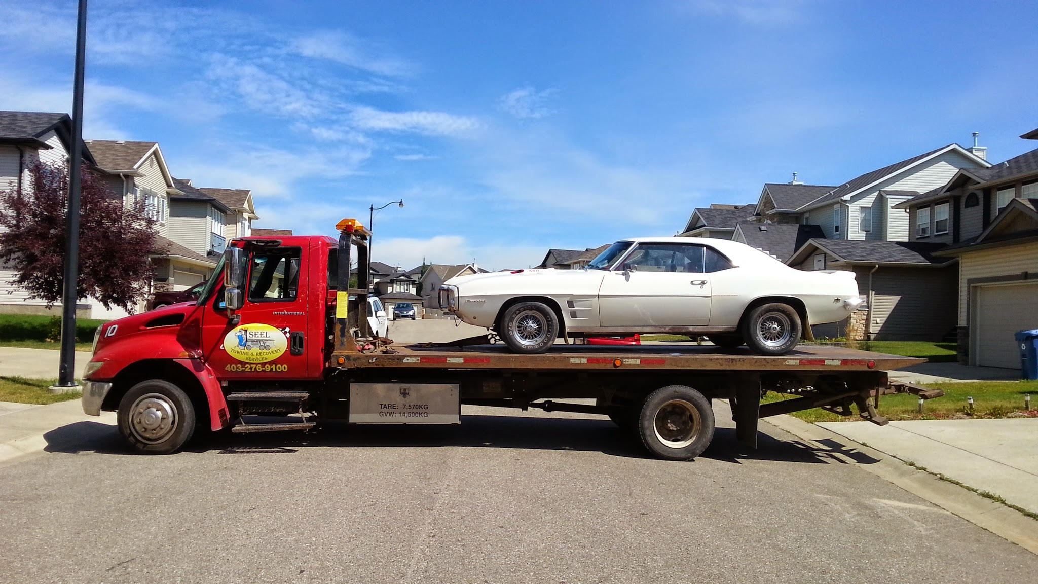 Long  Distance Towing 1969 Firebird