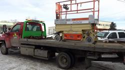 Scissor Lift Towing Calgary