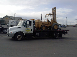 Fork Lift Towing Calgary