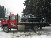 Flatbed Tow Trucks Calgary Jaguar
