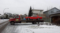 Towing Service of 1967 Ford Mustang