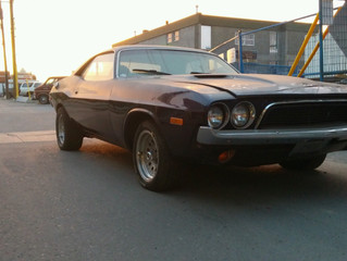 1974 Dodge Challenger Towed by SEEL Towing in Calgary