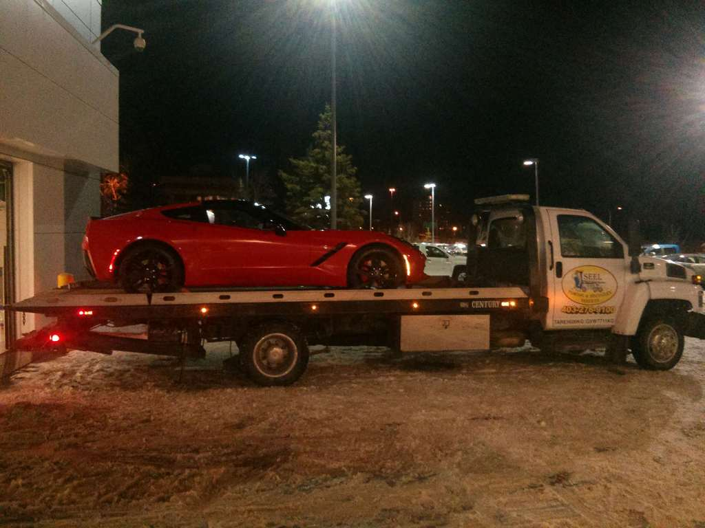 Towing NW Calgary Porsche